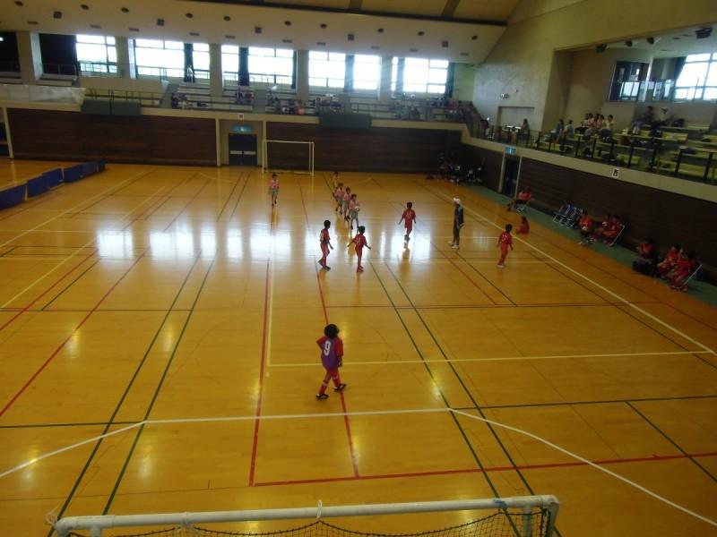 守口市市民体育館フットサル (1)